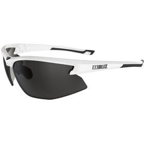 Bliz Motion M5 Glasses shiny white/smoke with silver mirror